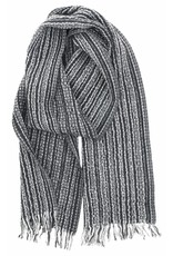 Lapuan Kankurit KAARNA sjaal - zwart, 100% wol