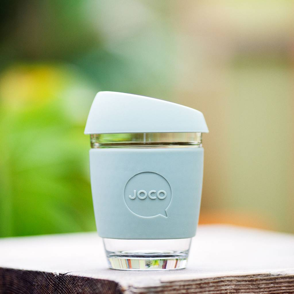 JOCO reusable coffee mug - vintage colours