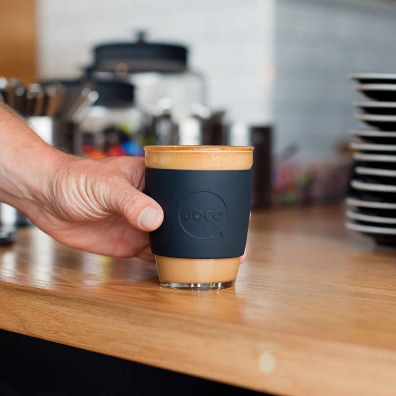 JOCO reusable coffee mug - power colours