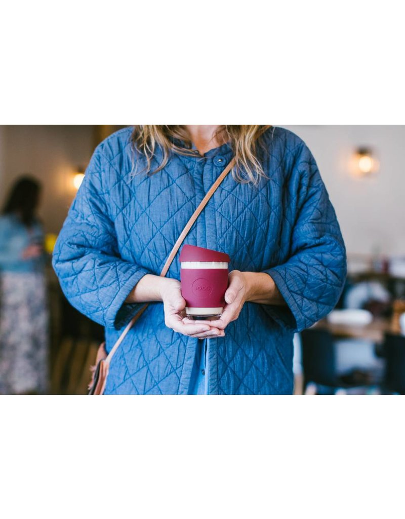 Joco JOCO reusable coffee mug - power colours