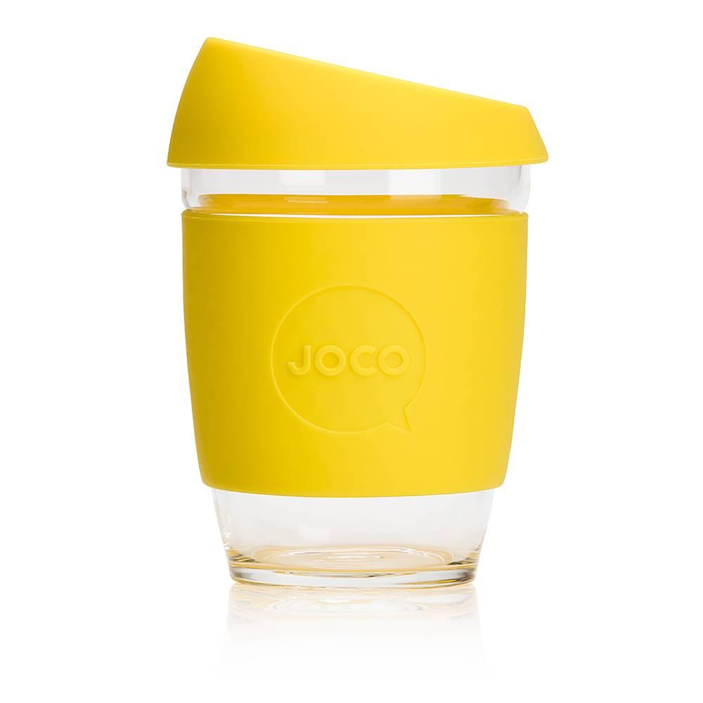 JOCO reusable coffee mug - bright colours