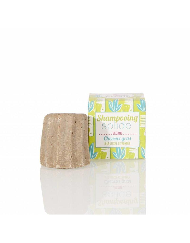 Lamazuna Lamazuna Solid Shampoo - Greasy Hair - Lemony Litsea