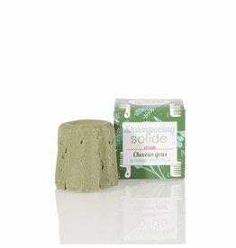 Lamazuna Solid shampoo - greasy hair - wild herbs