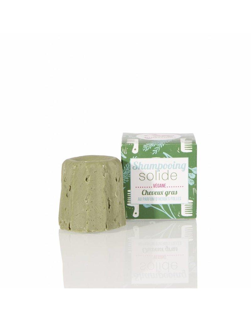 Lamazuna Lamazuna Solid Shampoo - Greasy Hair - Wild Herbs - no essential oils