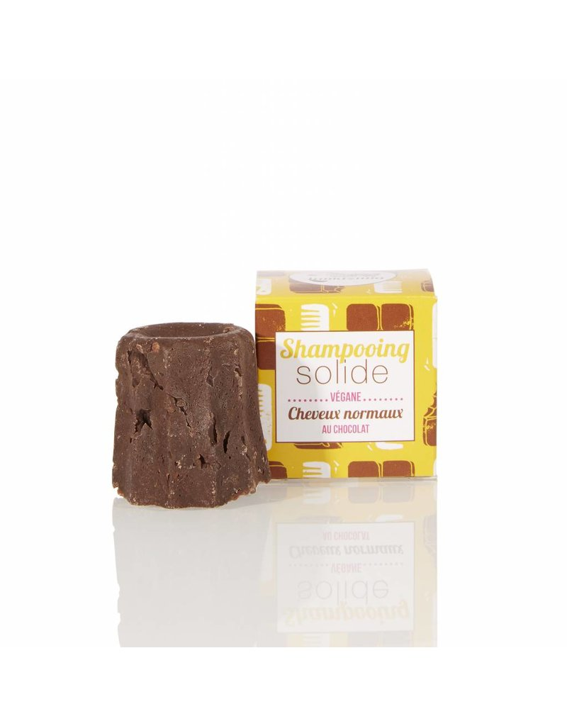 Lamazuna Lamazuna Solid Shampoo - Normal Hair - Chocolat - no essential oils