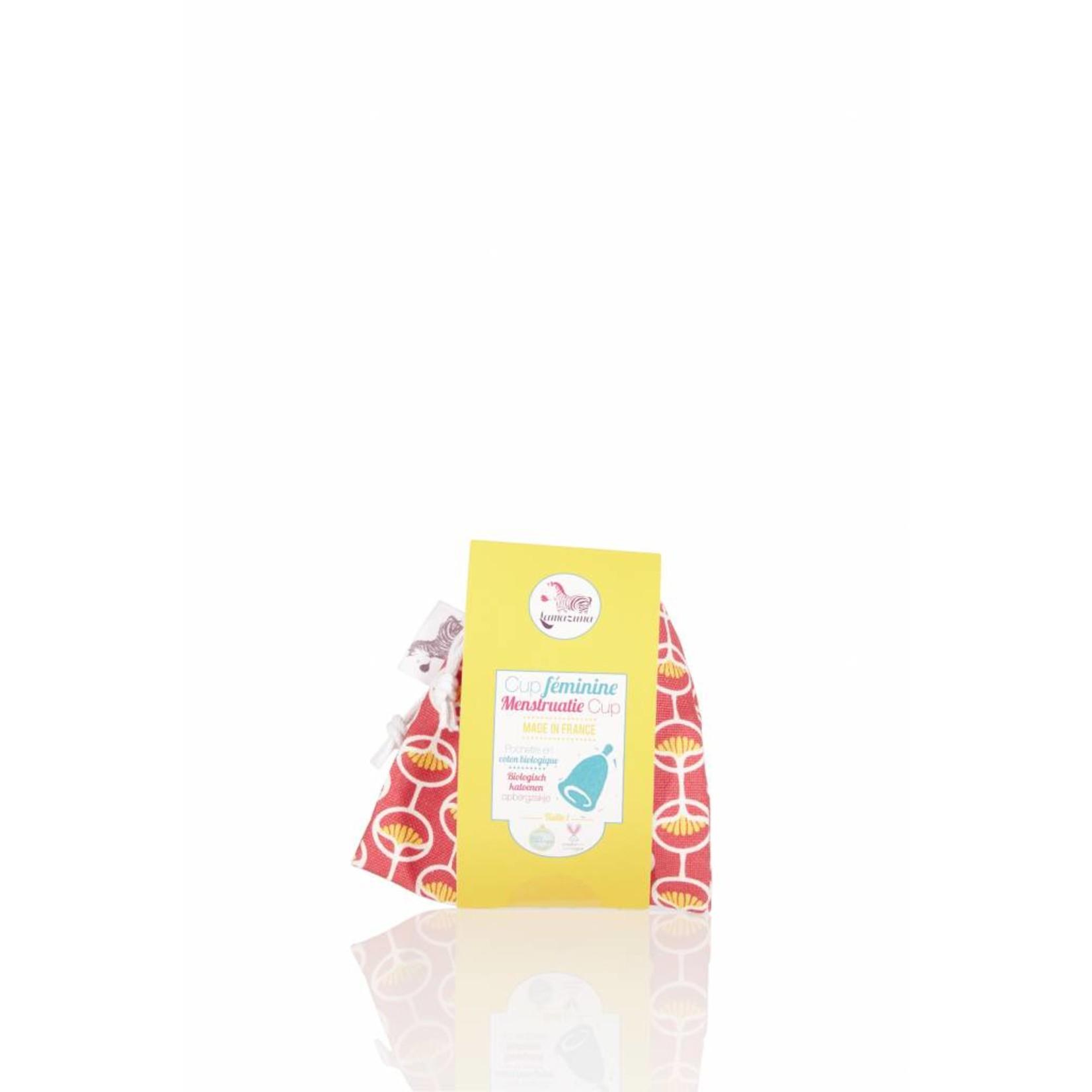 Lamazuna Lamazuna Menstruation Cup with Organic Cotton Pouch - 2 sizes