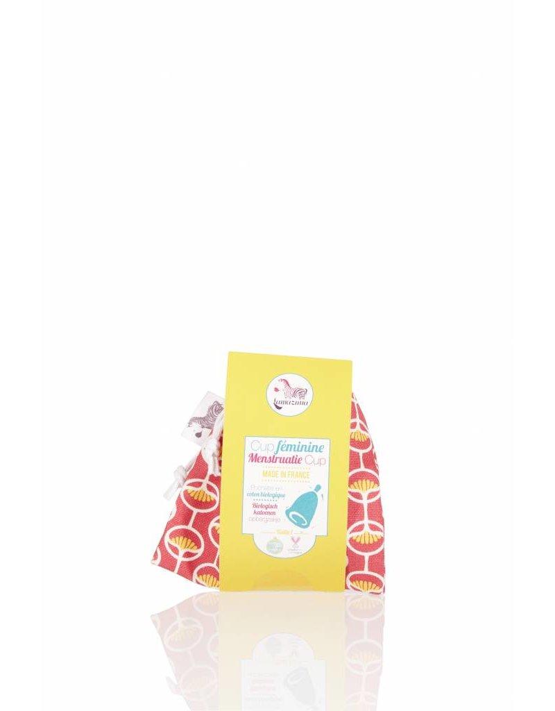 Lamazuna Lamazuna MenstruatieCup met Zakje in Biokatoen - 2 maten