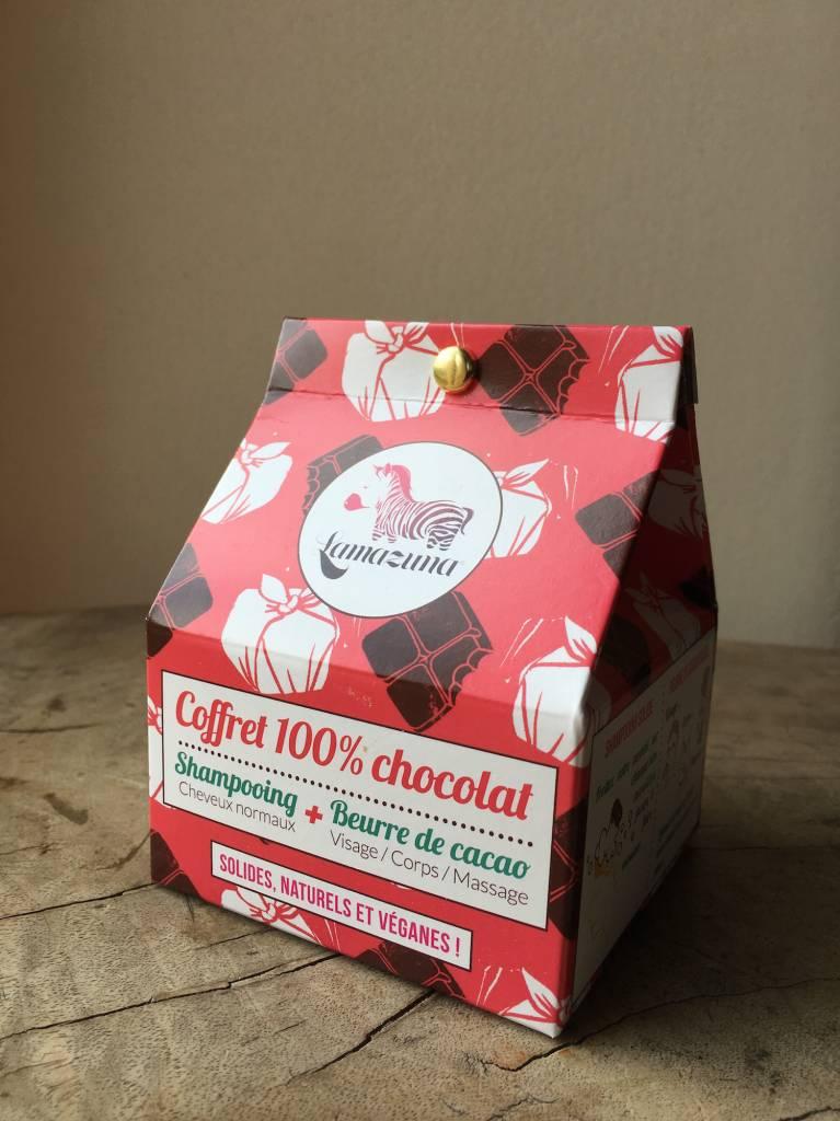 Lamazuna Zero Waste Geschenkdoos - 100% chocolat