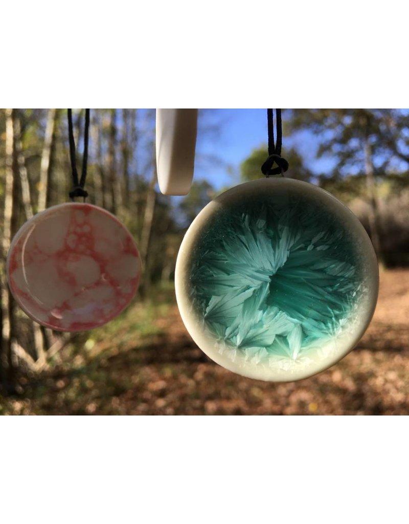 Munkaa Munkaa Handgemaakt Halssnoer Keramiek - verschillende kleuren