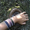 'Amaru' Geweven Armbanden - set van 3 - 100% wol