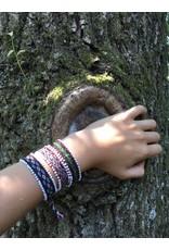 Threads of Peru Amaru handwoven bracelets - set of 3 - 100% wool
