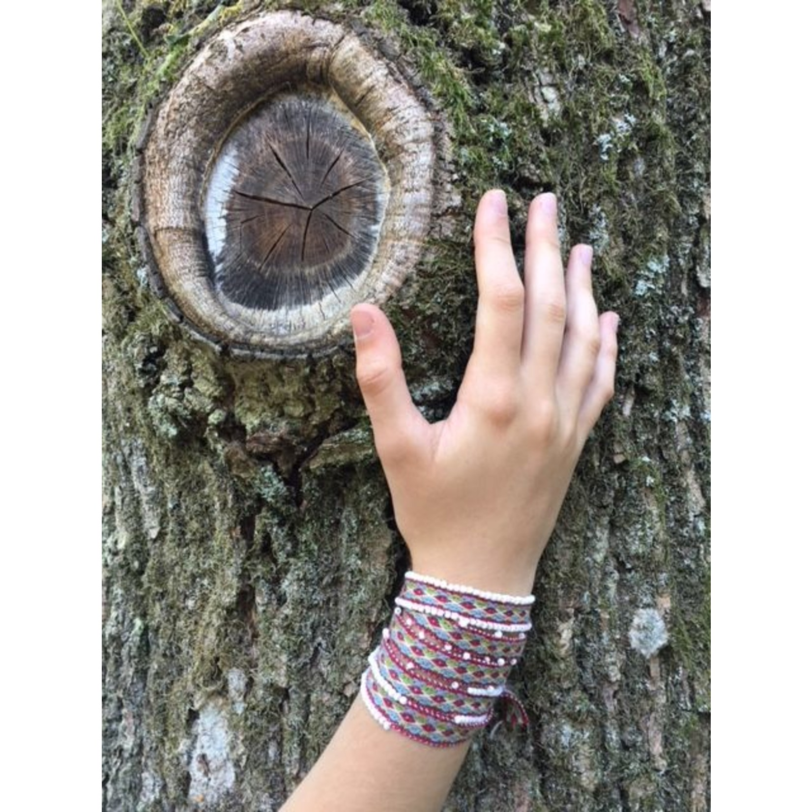 Threads of Peru Wato wrap bracelet - 100% alpaca