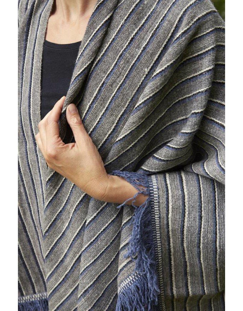 Threads of Peru Angelina Handwoven Wrap - 100% alpaca