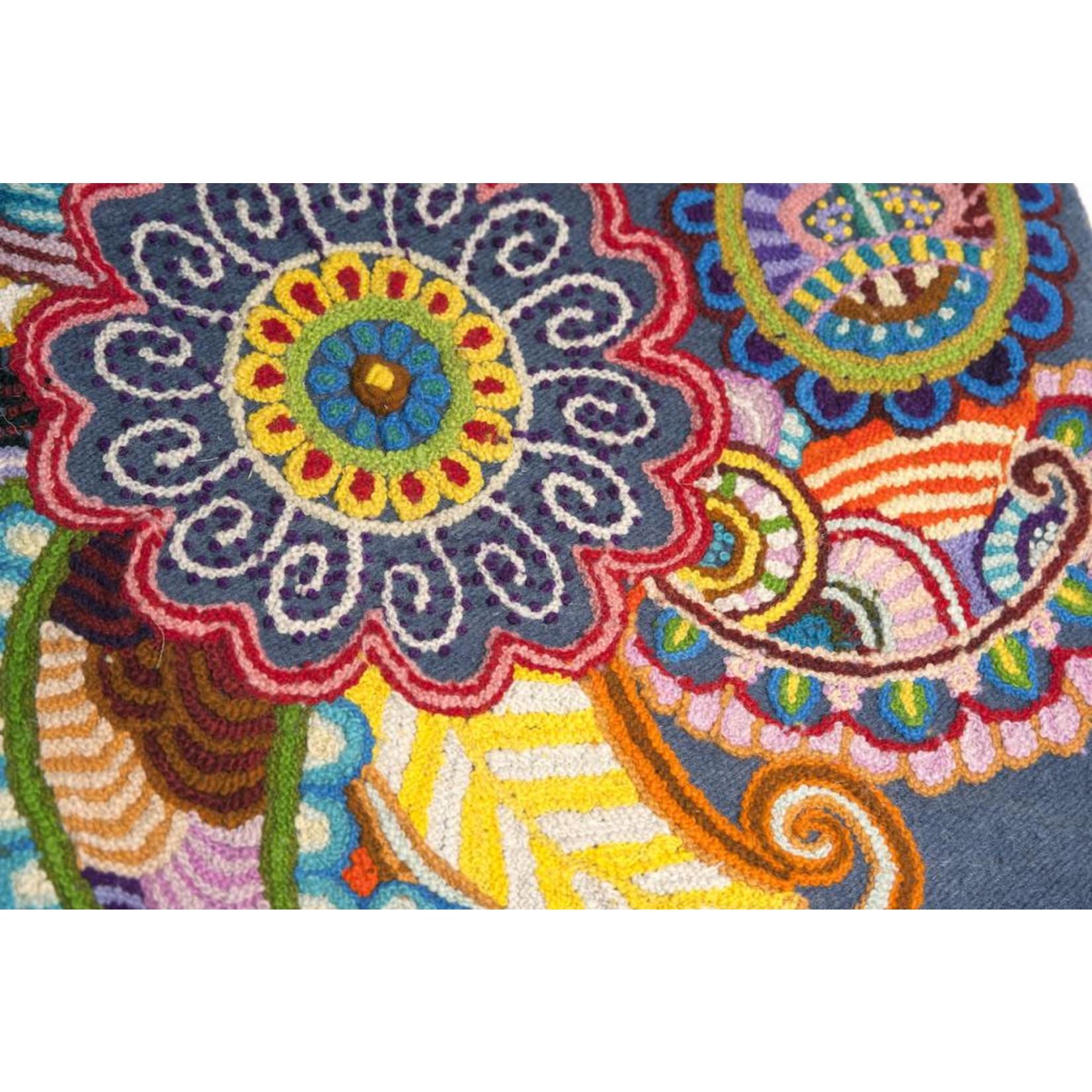 Threads of Peru Handgeweven Kussenovertrekken - 100% wol