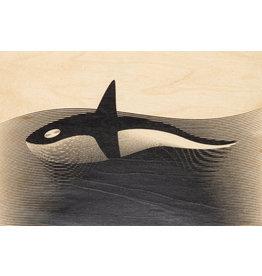 woodhi WOODHI postcard - Orca