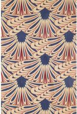 woodhi WOODHI postcard made of wood - Blue Feathers