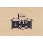 woodhi WOODHI postkaart - Camera