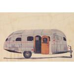 woodhi WOODHI postcard - Caravan