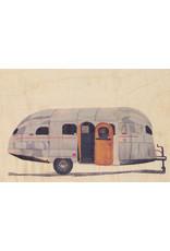 woodhi WOODHI postkaart van hout - Caravan