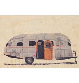woodhi WOODHI postkaart - Caravan