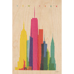 woodhi WOODHI postcard - New York