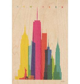 woodhi WOODHI postcard - New York