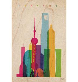 woodhi WOODHI postcard - Shanghai