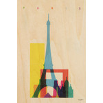 woodhi WOODHI postcard - Paris