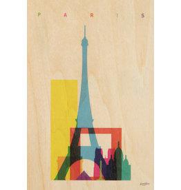 woodhi WOODHI postkaart - Paris