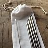 mon.MO Herbruikbare Rietjes - 4 pack met borstel en zakje