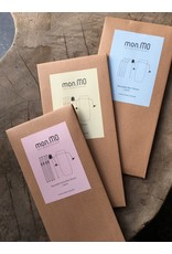 mon.MO mon.MO Reusable Smoothie Straws - 4 pack with brush & pouch
