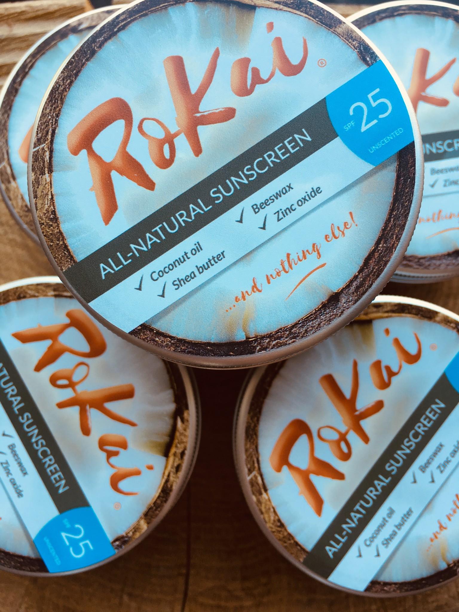 ROKAI 100% Natuurlijke Zero Waste Zonnecrème  - Breedspectrum  - 25 SPF