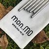 mon.MO Herbruikbare Cocktailrietjes - 6 pack met borstel en zakje