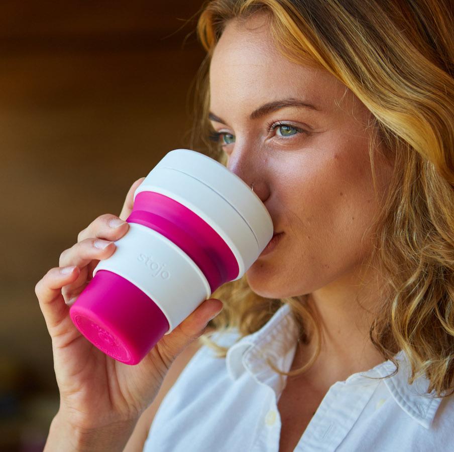 STOJO Original herbruikbare pocket cup - 6 kleuren