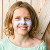 Suntribe Zink Zonnecrème Getint - Retro Blauw - SPF30