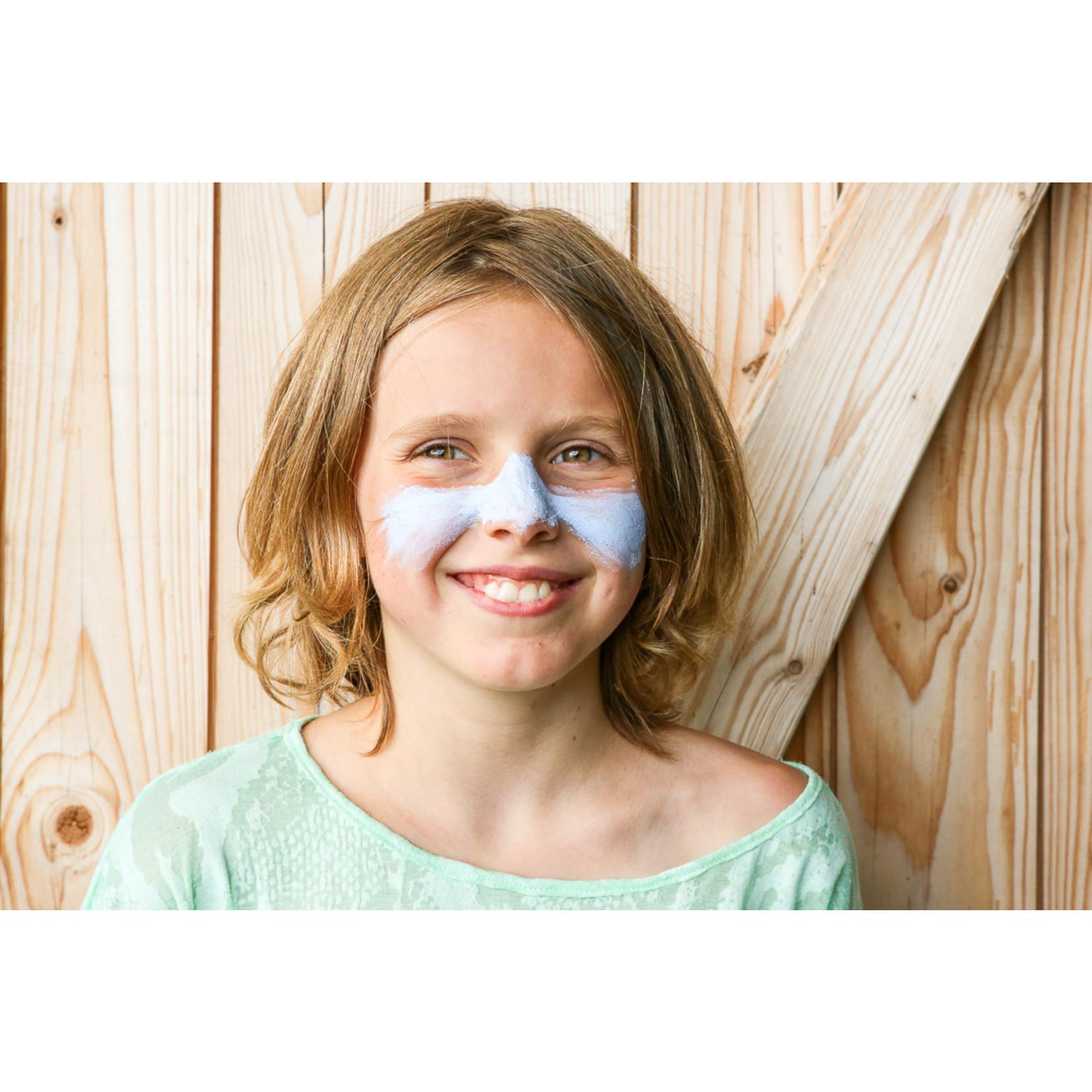 Suntribe Suntribe Zinc Sunscreen Tinted - Retro Blue - SPF30