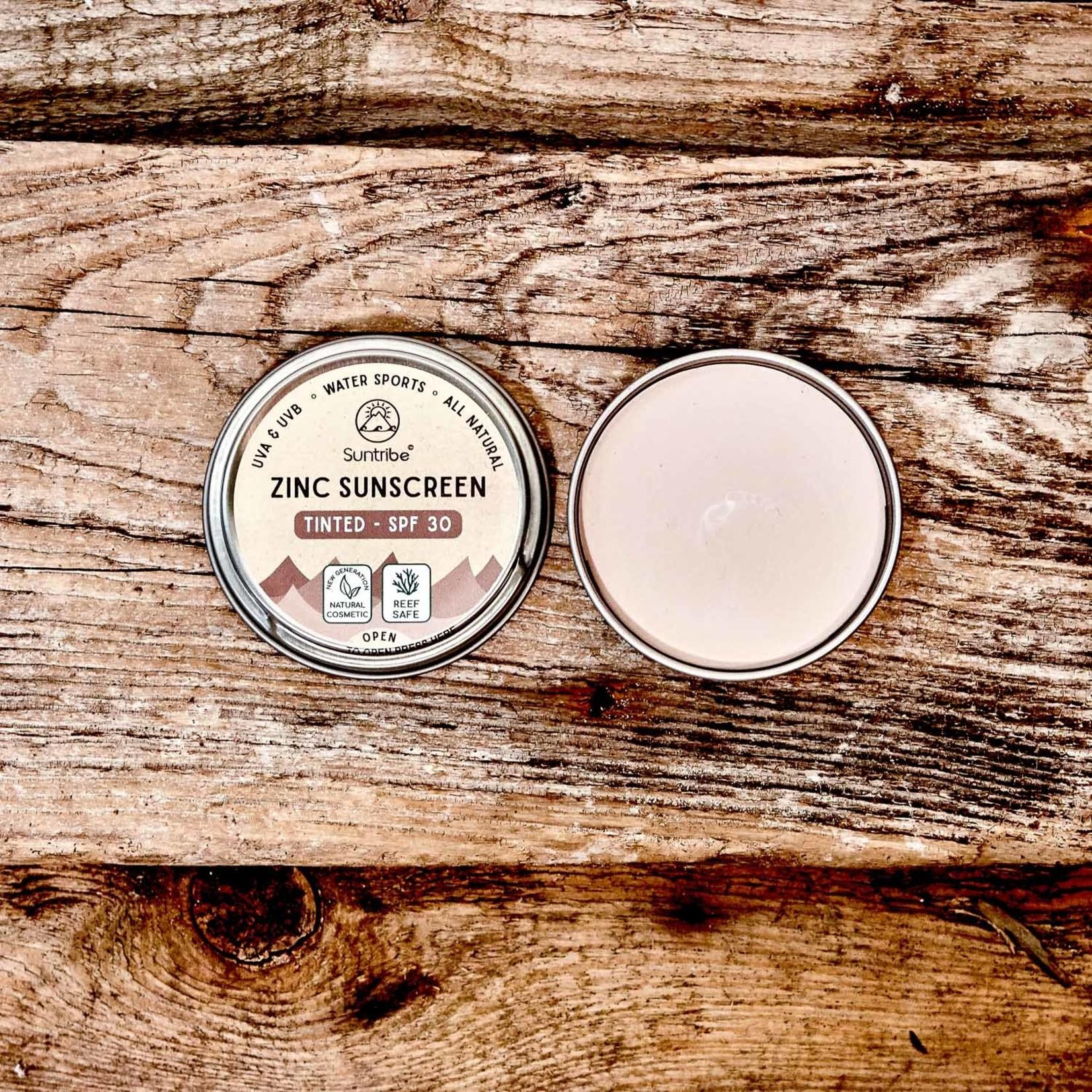 Suntribe Suntribe Zink Zonnecrème Getint - Naturel Mud Tint - SPF30
