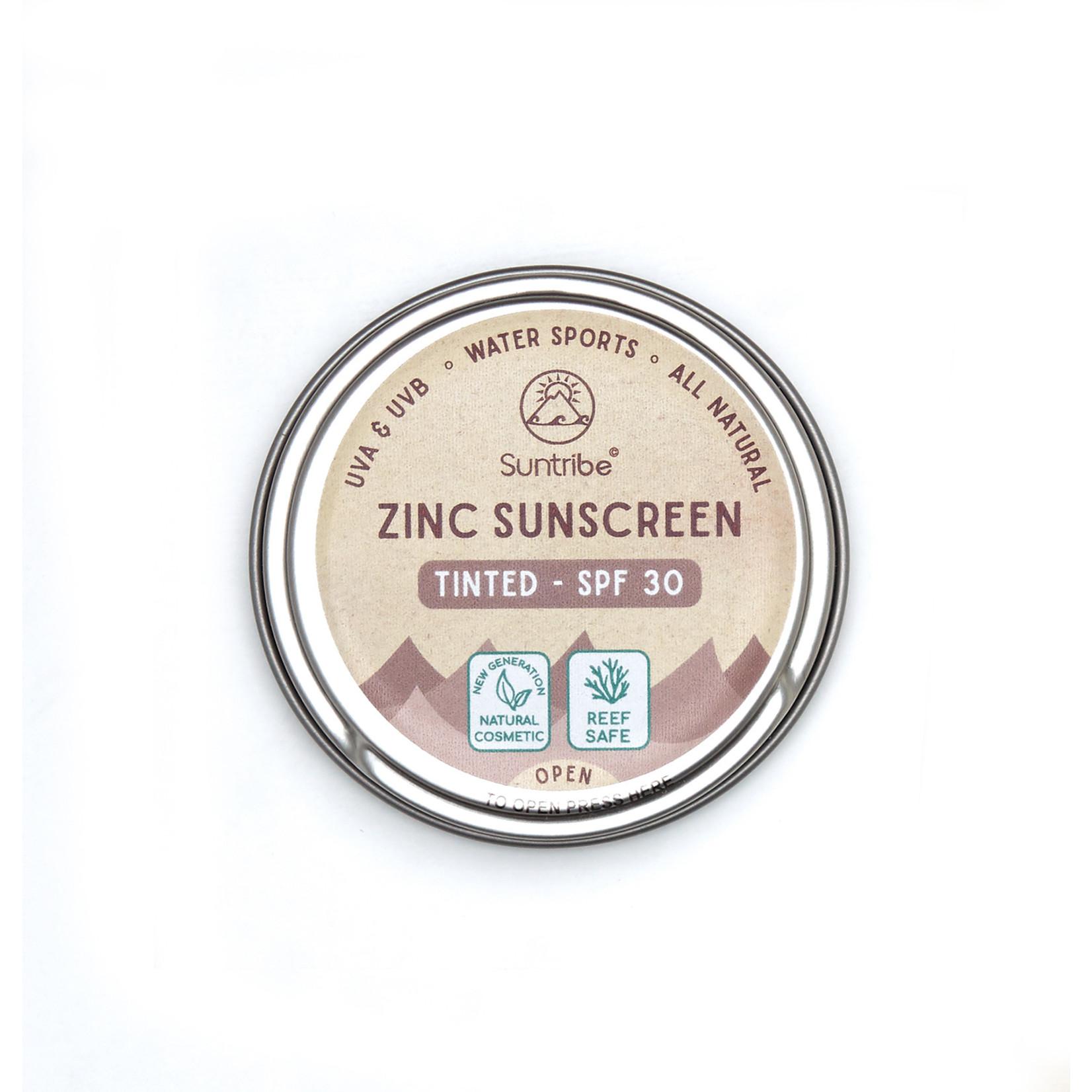 Suntribe Suntribe Zinc Sunscreen Tinted - Natural Mud Tint - SPF30