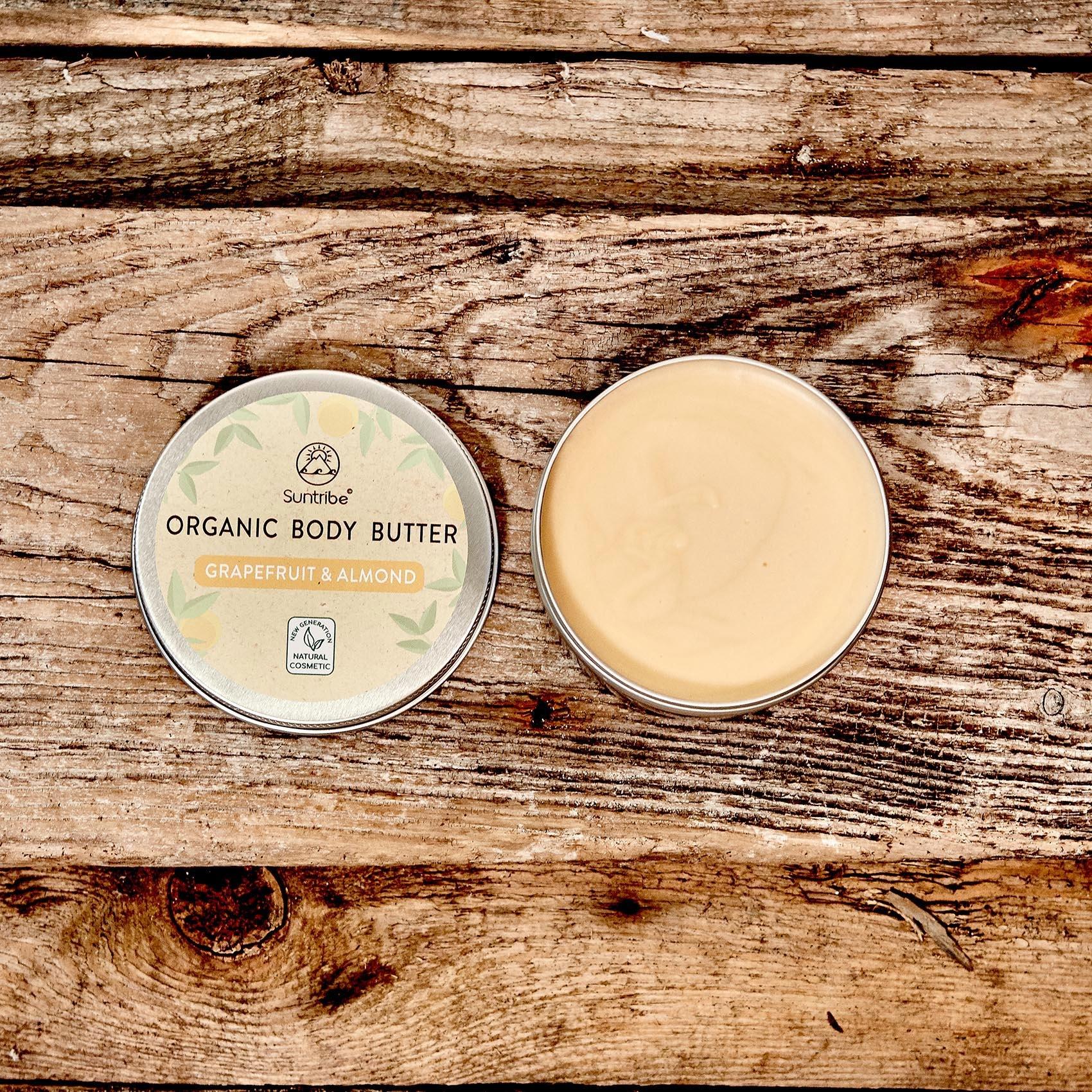 Suntribe All Natural Body Butter - Grapefruit & Almond - 150ml
