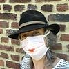 Mondmasker - Pearl Blush Kiss - biokatoen