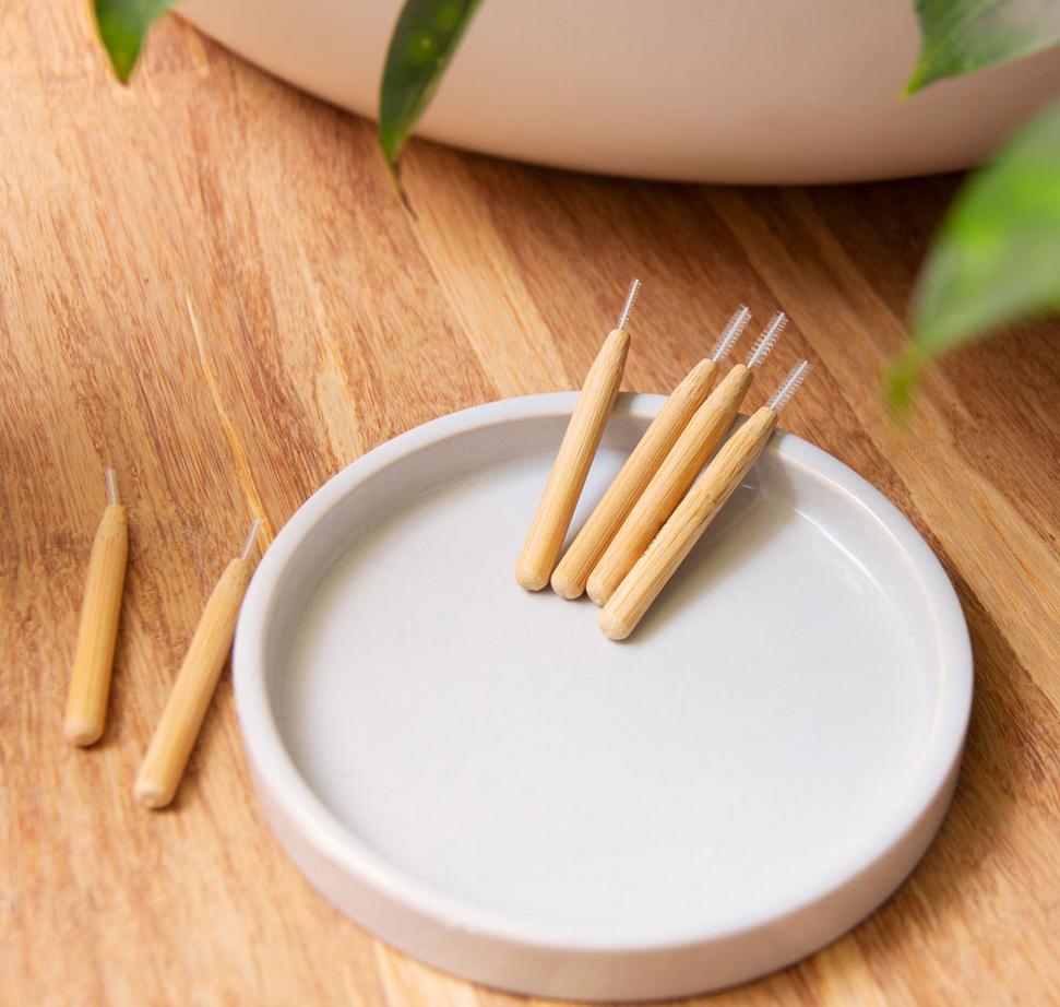 HYDROPHIL Interdentale Borsteltjes - Bamboe & BPA-vrij Nylon