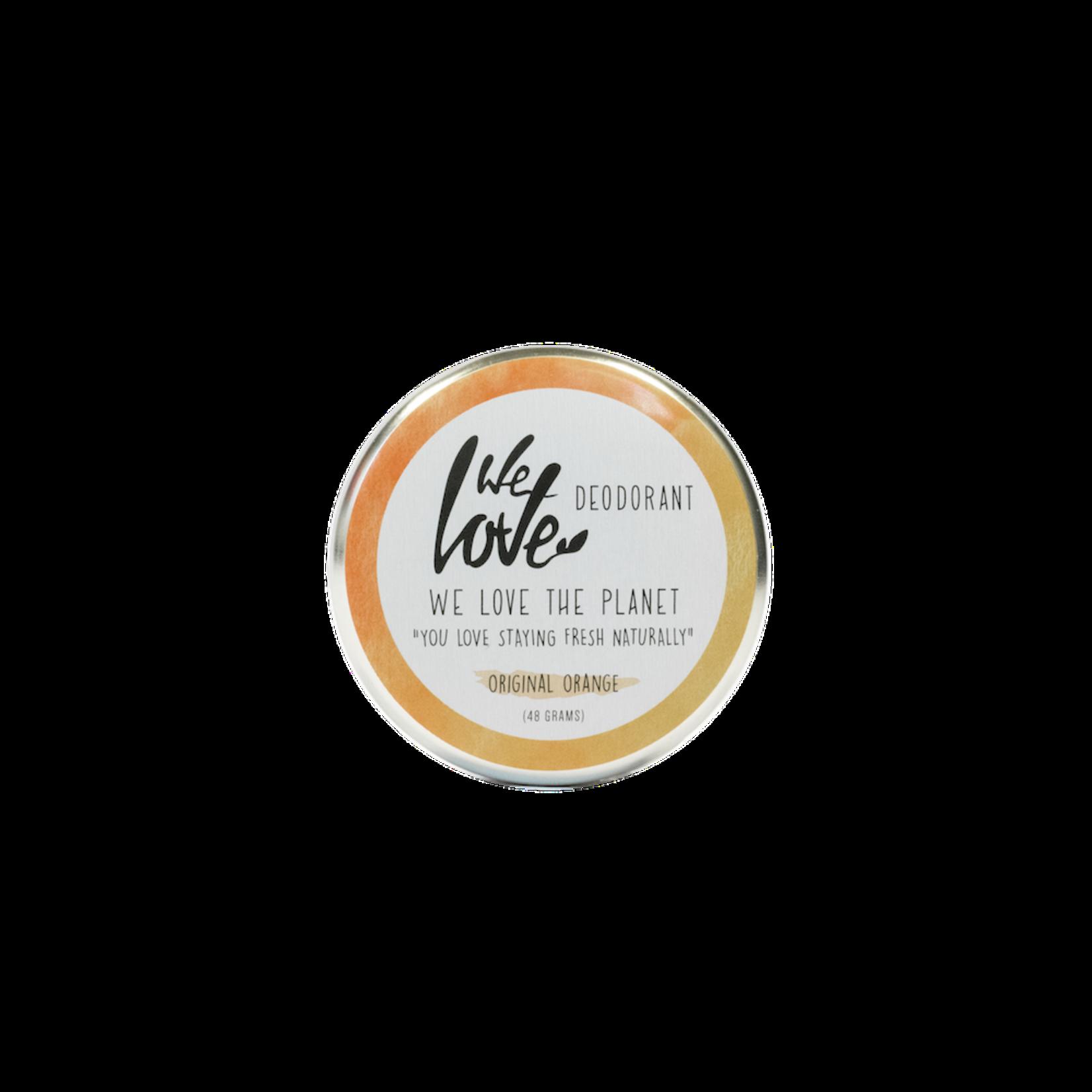 WLTP We Love The Planet - Deodorant - Original Orange - in a tin