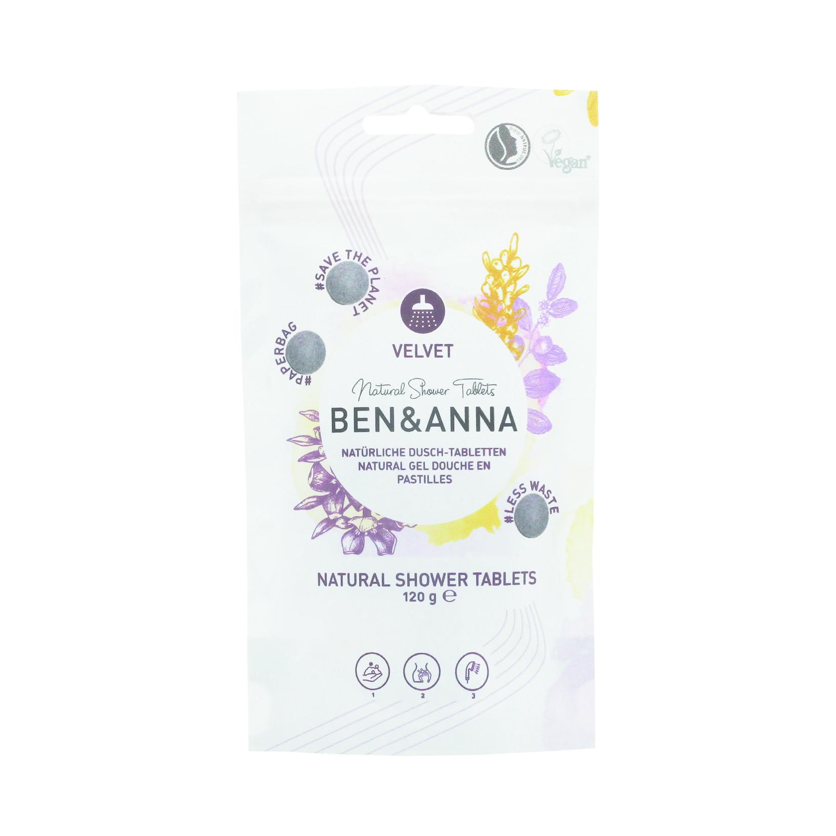 Ben & Anna Ben & Anna Natural Shower Tablets - Velvet