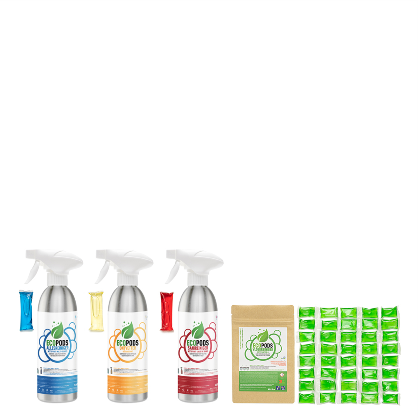 Ecopods Ecopods - ALU Starter Pack - 3M