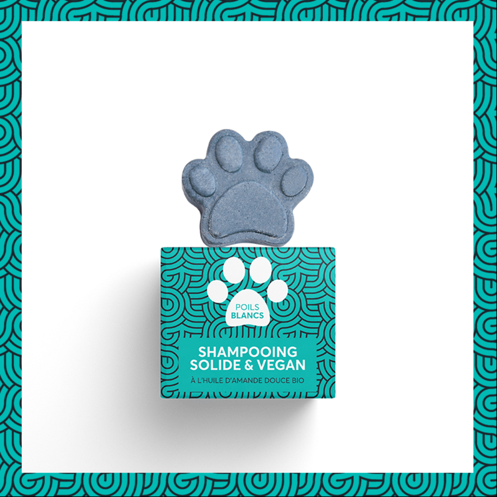 Pepet's PEPET'S Vegan Solid Shampoo for pets - White Coat