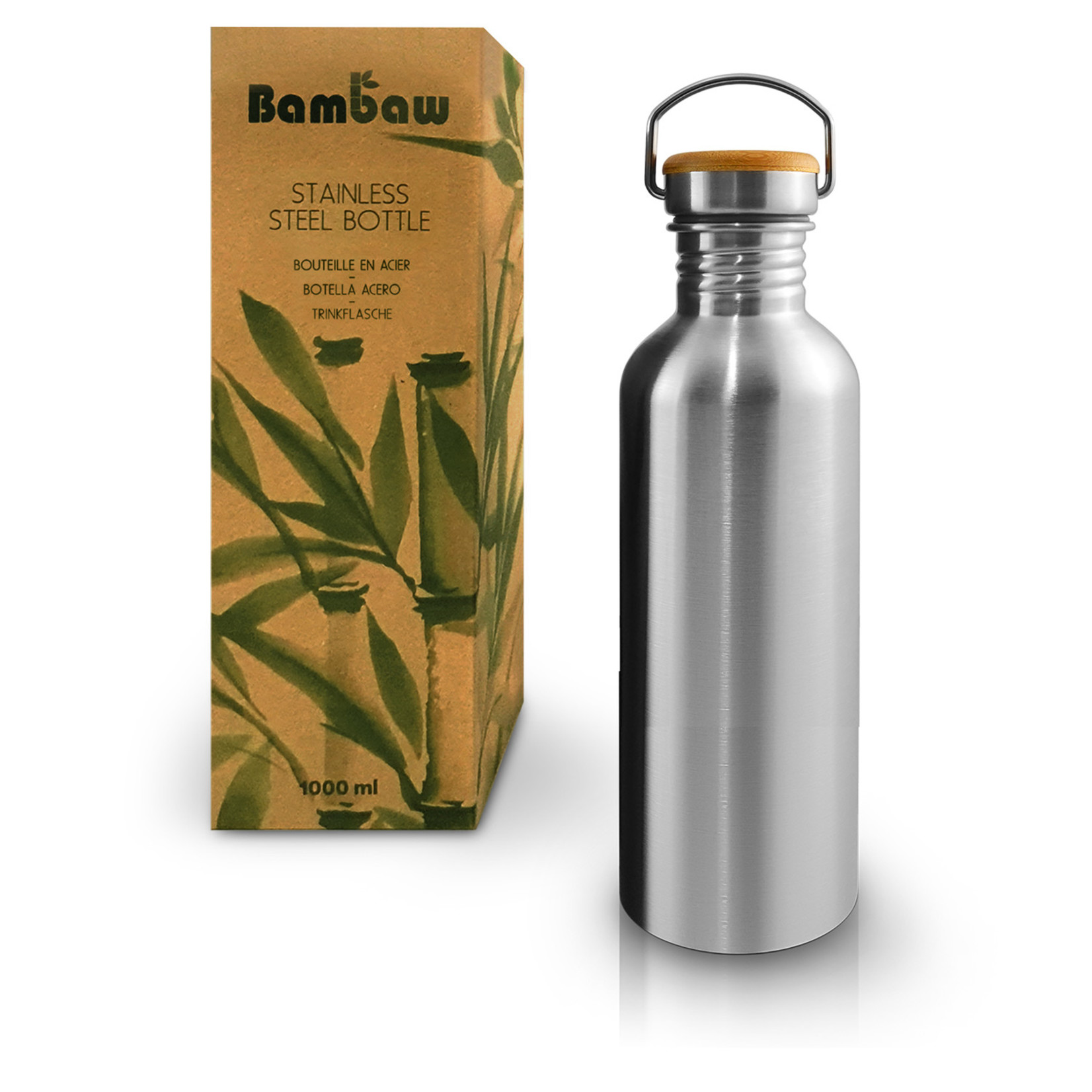 Bambaw BAMBAW - Drinkfles in roestvrijstaal - 750ml & 1000ml