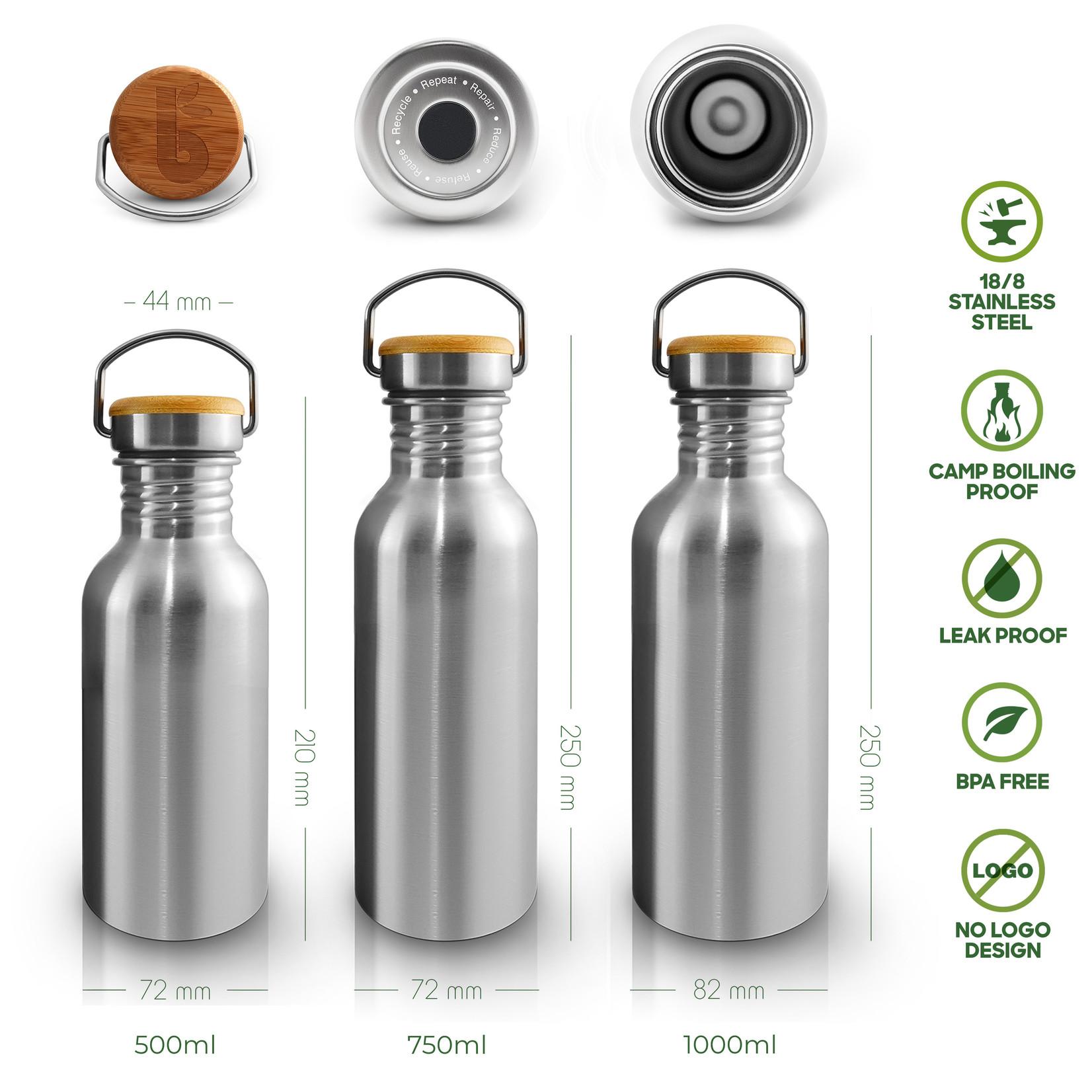 Bambaw BAMBAW - Stainless steel bottle - 750ml & 1000ml