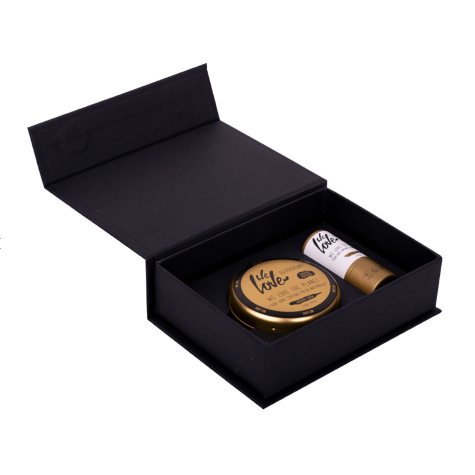 WLTP We Love The Planet - Golden Glow Gift Box - deodorant & lip balm
