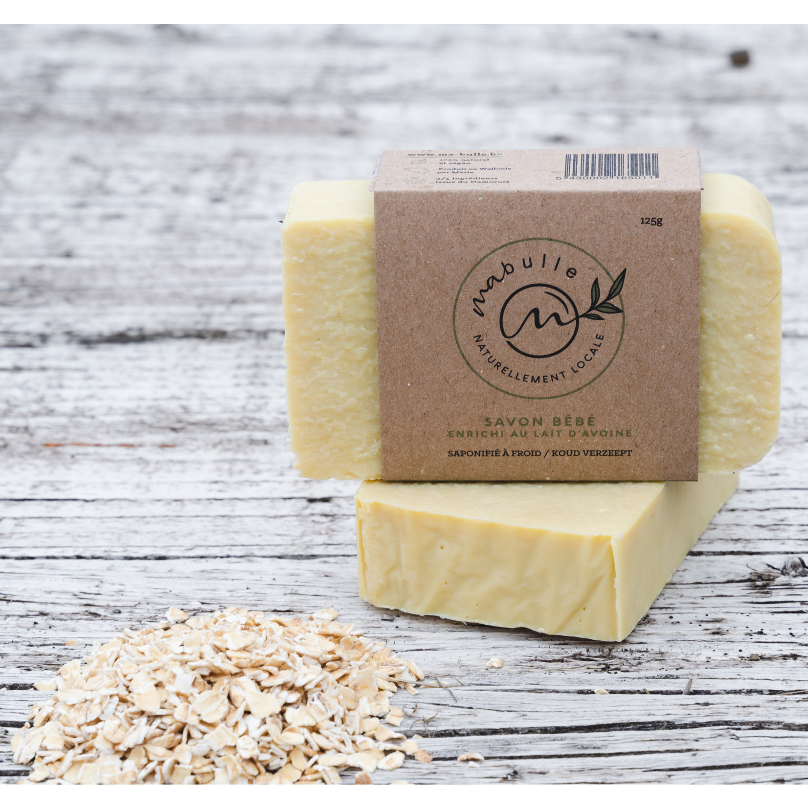 Ma Bulle MA BULLE - baby soap with oat milk
