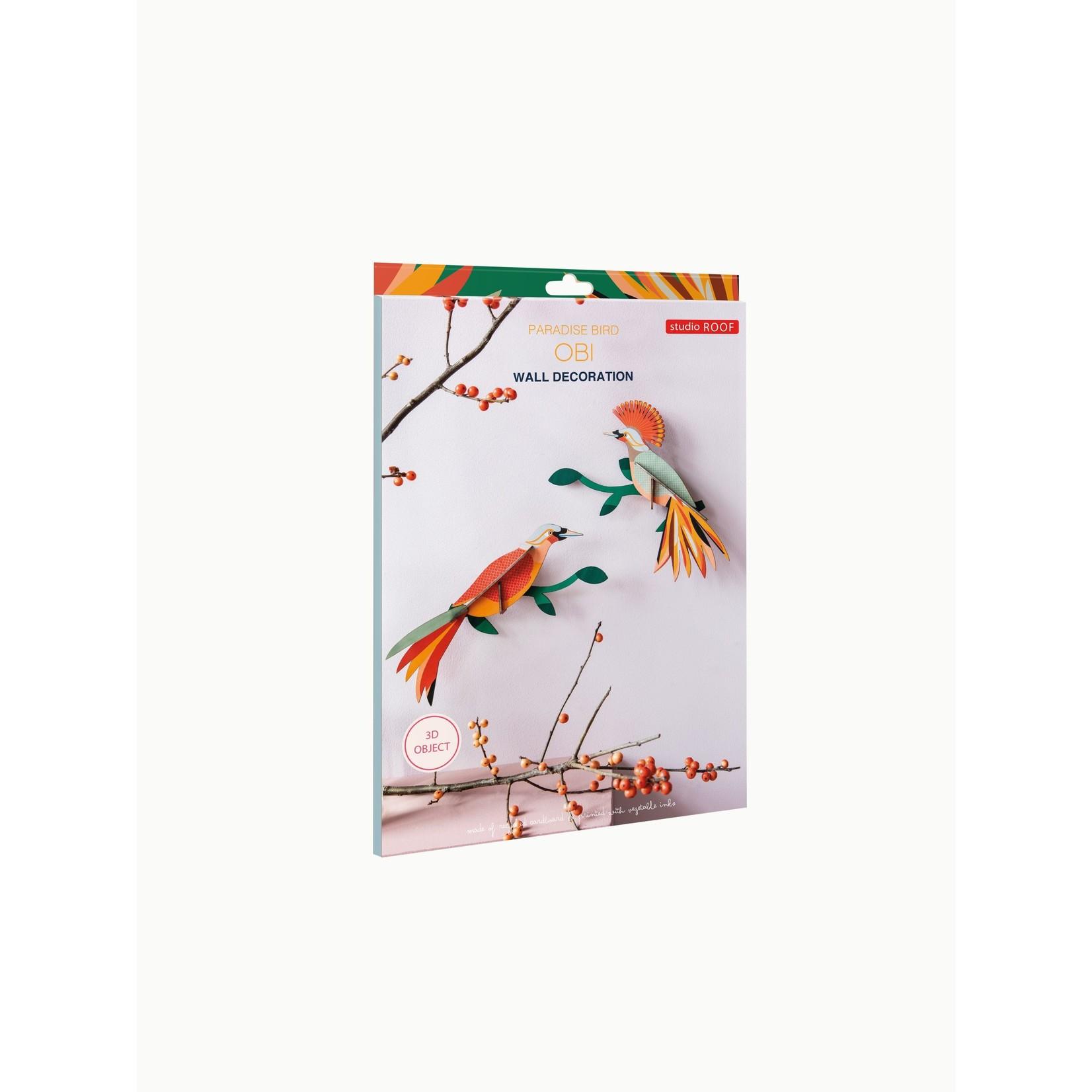 Studio Roof STUDIO ROOF - Paradise Birds - Obi